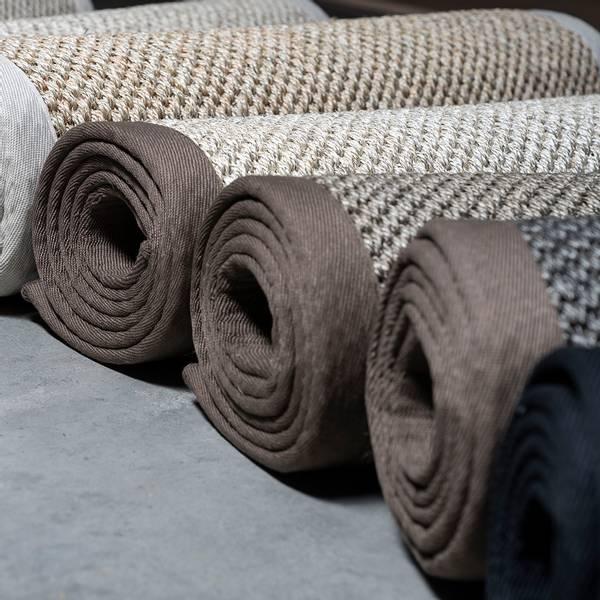 Sisal teppe (300x400 - Sand/brun kant)