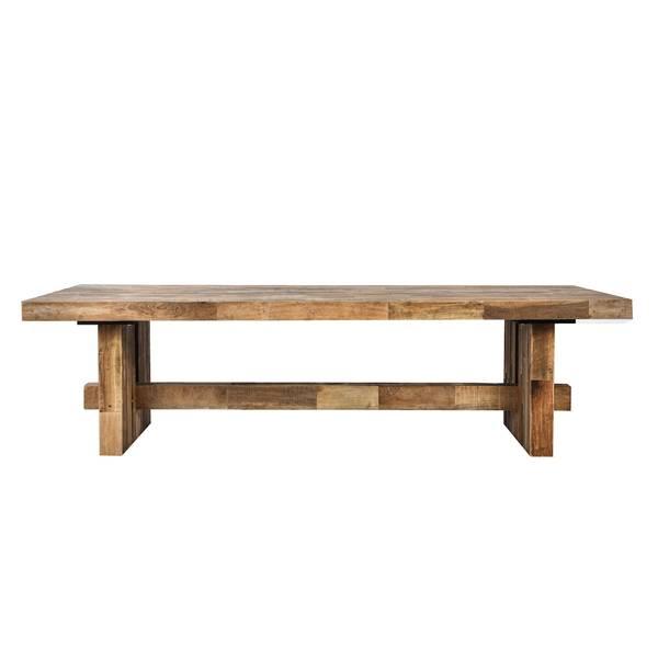 Elmwood sofabord (180x70x50)
