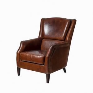 Bilde av Windsor lenestol (vintage leather brun)